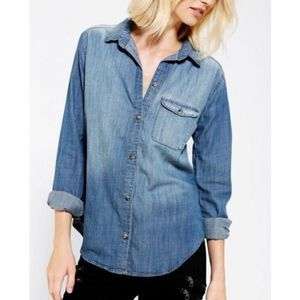 Urban Outfitters BDG Boyfriend Fit Chambray Shirt